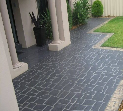 stencil concreting in melbourne